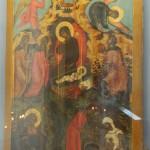 Икона «Рождество Христово»  Москва, конец XVII в..   Дерево, левкас, темпера,  МГОМЗ